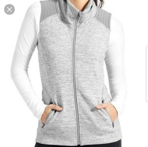 ATHLETA Grey Stonger Quilted Vest